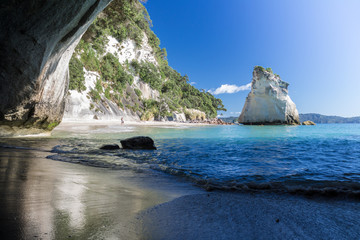 Cathedral Cove amazing white sand beach