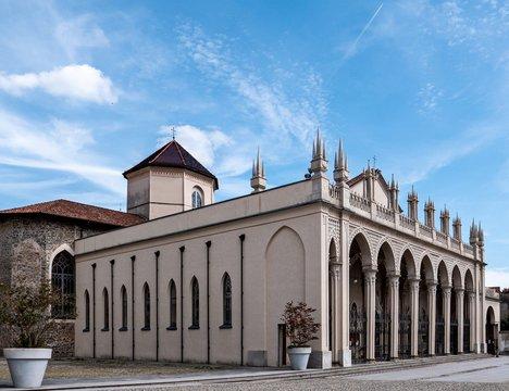 Cathedral di Santo Stefano in Biella, Italy
