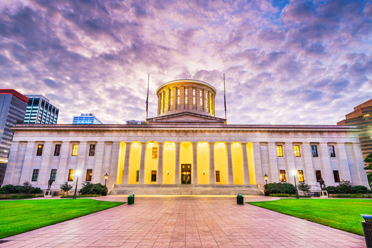 Ohio State House at Dawn