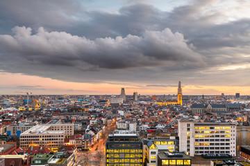 Foto op Textielframe Antwerpen Antwerp, Belgium Cityscape