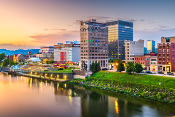 Fototapete - Charleston, West Virginia, USA