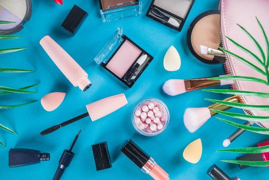 Professional makeup cosmetic set