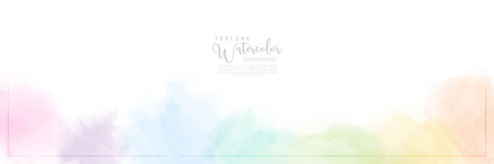 Abstract pastel watercolor for background