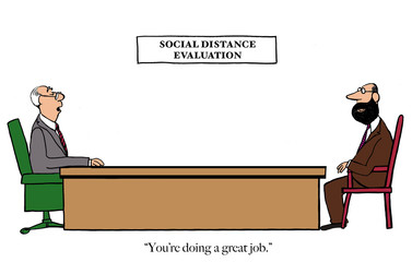 Evaluation of social distance performance