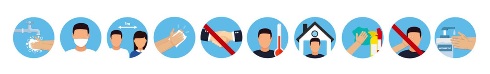 Fototapeta Hand sanitizers. coronavirus hygiene products stop viruses coronavirus. Hygiene product. obraz