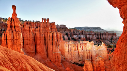 Photo sur Aluminium Rouge traffic Bryce Canyon National Park, Utah USA