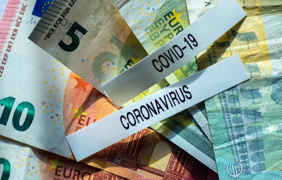 Coronavirus, emergency background, covid-19