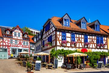 Wall Mural - Altstadt von Idstein, Taunus, Hessen, Deutschland
