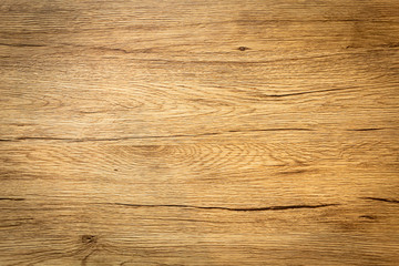 Closeup of texture table wood dark background. Copy space Fotomurales