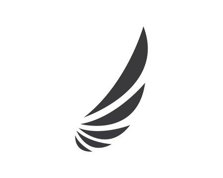 wing logo symbol icon vector illustration