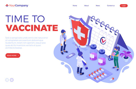 Vaccination Concept Banner