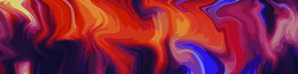 Abstract gradient artwork. Colorful liquid marble style background. Fluid inks creative texture
