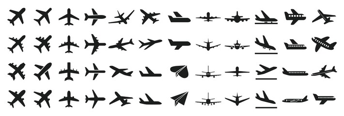 飛行機 アイコン Fototapete