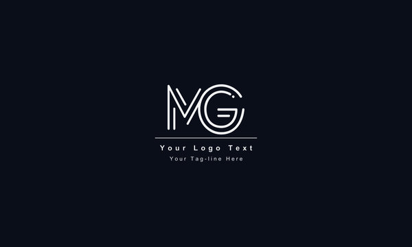 GM or MG letter logo. Unique attractive creative modern initial GM MG G M initial based letter icon logo