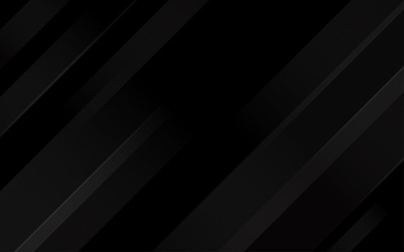 Black abstract geometric oblique lines background blank space for text vector illustration