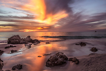 Canvas Prints Cappuccino Sunset Point