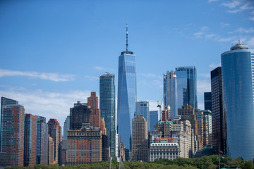 New York City and One World Trade Center