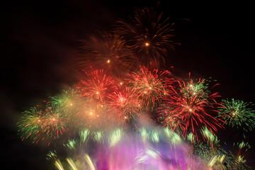 Fireworks - Mujib 100 Celebration