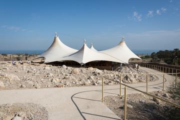 Ein Gedi National Park at Southern Israel