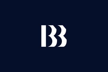 Initial based clean and minimal Logo. BB letter creative fonts monogram icon symbol. Universal elegant luxury alphabet vector design