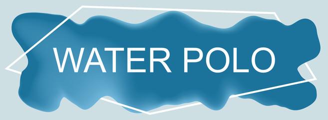 web Sport Label Water Polo