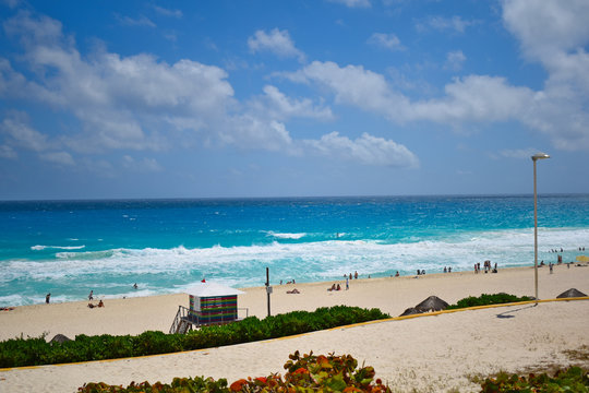 Playa Delfines, Cancun, Mexico (Dolphin Beach)