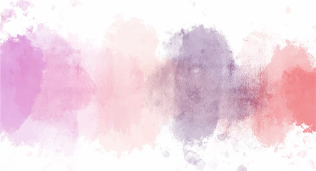 Vintage Pink watercolor background for your design, watercolor background concept, vector.