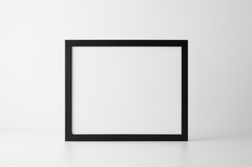 8x10 Black Frame Mock-Up - Landscape