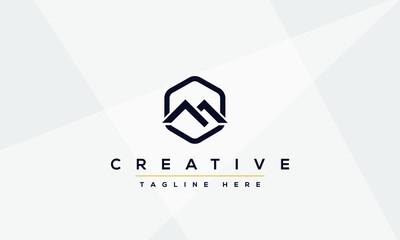 Unique modern creative elegant Letter M logo design or MM initials vector monogram symbol.