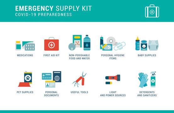 Covid-19 preparedness: emergency supply kit