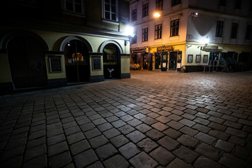 "Bars of nightlife area ""Bermuda Triangle"" are seen closed during the coronavirus disease (COVID-19) outbreak in Vienna"