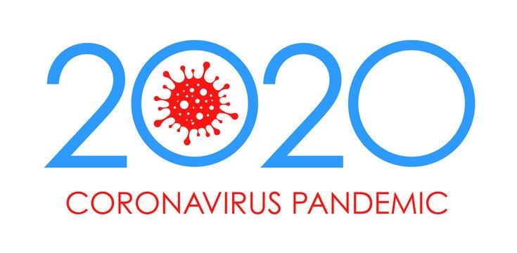 2020 Coronavirus Pandemic. 2019-nCoV. Vector