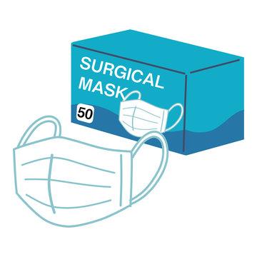 マスク サージカルマスク 箱