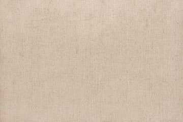 Aluminium Prints Fabric Brown cotton fabric texture background, seamless pattern of natural textile.