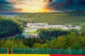 Acrylic Prints F1 Spa Francorchamps Belgium