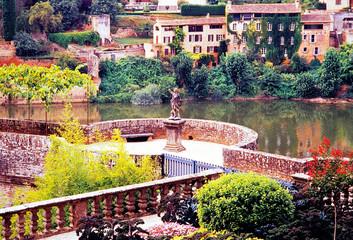 Gardens Albi Tar Midi Pyrenees France - Shot on film