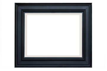 Beautiful black clothes pattern of picture frame
