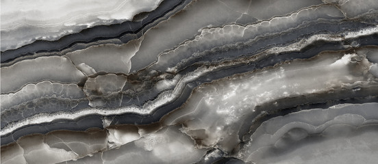 Fototapeten Dunkelgrau black abstract onyx marble background