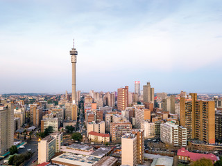 Wall Mural - Downtown of Johannesburg, South Africa
