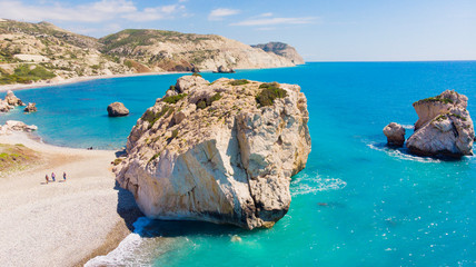Fotobehang Cyprus Aphrodite's Rock Cyprus Paphos