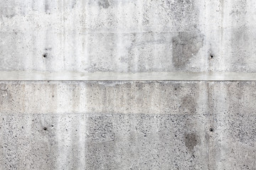 Fototapete - Gray concrete wall, front view, background texture