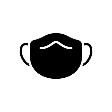 mask icon vector template