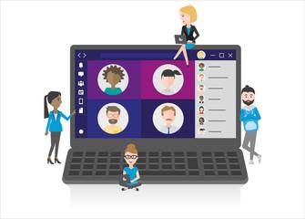 Working as a virtual team