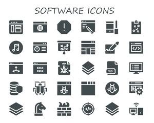software icon set