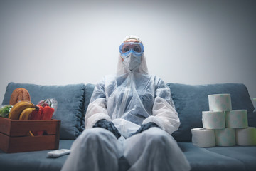 Home quarantine and isolation during the virus outbreak.