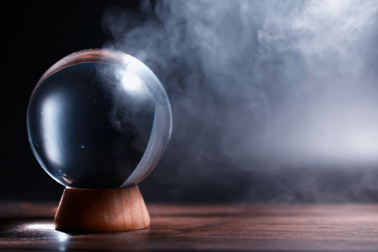 Crystal ball to predict the fate. Guessing for the future.