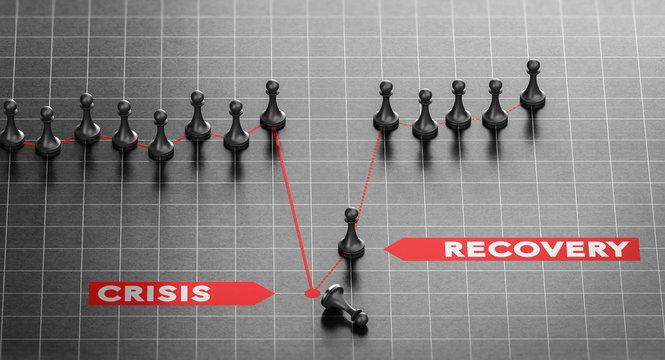 Disaster Recovery. Business Continuity Plan After Crisis.
