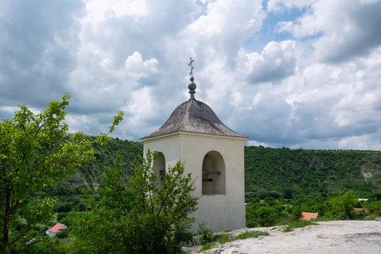 Chapel of Old Orhei Monastery (Orheiul Vechi) located in Moldova