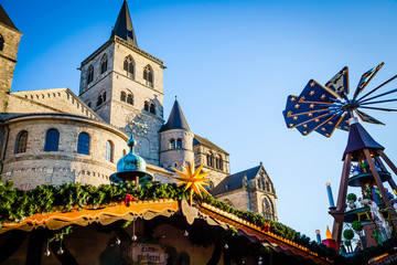 Christmas Market at the Dome in Trier, Germany