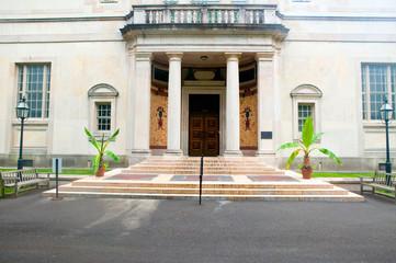 Fototapete - Exterior of Barnes Museum Philadelphia, Pennsylvania